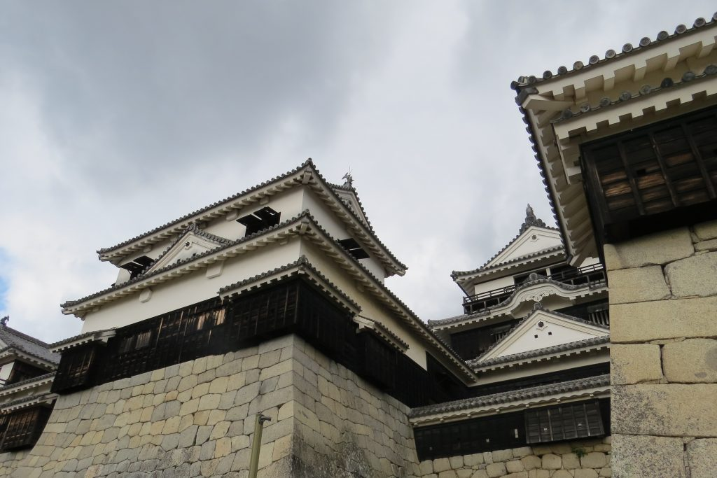 Nearby Matsuyama Castle