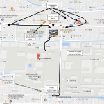 Map of venue area